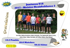 2017-Junioren U18-Meisterfoto