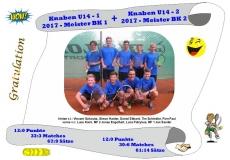 2017-Knaben U14-1+2-Meisterfoto